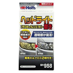 Holts/ホルツ ヘッドライトポリッシュ 小キズ・黄ばみ除去 MH958 hotroad
