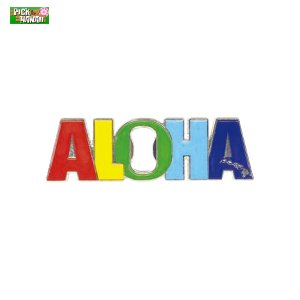 ボトルオープナーマグネット 栓抜き ALOHA 蓋開け マグネット 冷蔵庫に貼れる ビンビール等 PICK The HAWAII BL-MAG-BOAL|hotroad