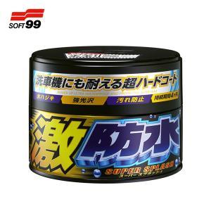 ソフト99 激防水ワックス ダーク&メタリック車用 固形 300g No.00347/