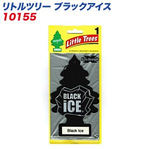 メール便対応 バドショップ:LittleTrees エアーフレッシュナー 吊り下げ式芳香剤 ブラックアイス 消臭/10155 hotroad