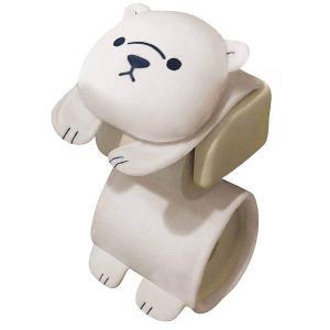 シロクマ トイレロールペーパーホルダー 白熊ロールペーパーホルダー トイレットペーパー MEIHO ME149|hotroad
