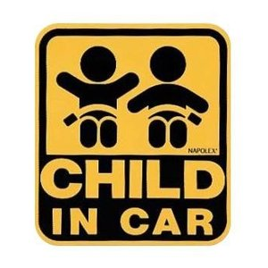 NAPOLEX セーフティーサイン マグネットタイプ CHILD IN CAR  保険付 SF-33/ hotroad