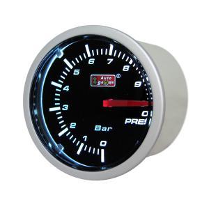 オートゲージ:52φ 2inch スモークメーター 油圧計 ホワイトLED/52-ASMOPSWL-270|hotroad