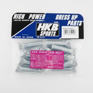 メール便可 HKB/東栄産業:ロングハブボルト 10mm トヨタ 5穴 P1.5/14.3 10本入/HK36 hotroadparts