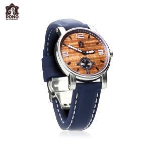 腕時計 コア ウォーターマン シリコンブルーベルト レディース 女性用 ステンレス 電池式 10気圧防水 PICK The HAWAII PW-KW-WTLCSBL hotroadparts