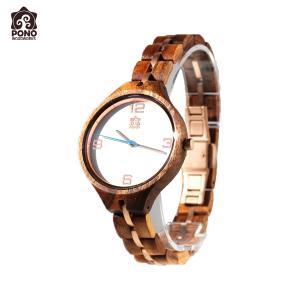 腕時計 コア ソリッドラウンド ホワイトフェイス レディース 女性用 ステンレス 電池式 ハワイ PICK The HAWAII PW-KW-KSLWT hotroadparts