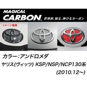 メール便可|HASEPRO/ハセプロ:マジカルカーボン フロント エンブレム トヨタ アンドロメダ/CEFT-16AD/|hotroadparts