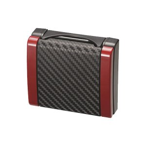 スリムドリンクホルダー カーボン調 レッド 細缶〜500mlペットボトルに対応/カーメイト/CARMATE:DZ335 hotroadparts