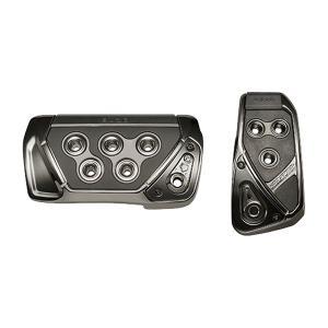 アクセルペダル ブレーキペダル GT SPEC PEDAL SET AT-SS ブラッククローム/カーメイト/CARMATE:RP109BCR|hotroadparts