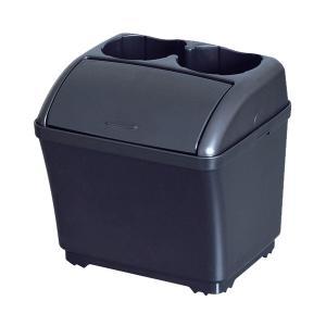 セイワ:ゴミ箱 車用 ダストボックスS 2本ドリンク収納/W887|hotroadparts
