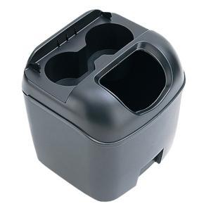 車 ゴミ箱 黒 ブラック ペットボトルも置けるドリンクホルダーつき ヤック/PZ-110|hotroadparts|05