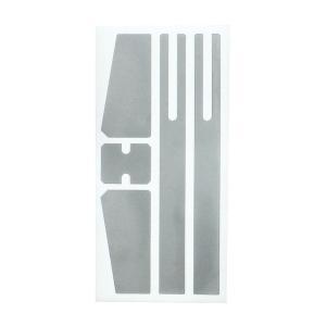 ステッカー デカール プラスイオン放電アルミシート TYPE-C フロントガラス サイドミラー バッテリー 槌屋ヤック/YAC:TS263/TS-263 hotroadparts
