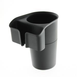 シンプルドリンクINスマホ ドリンクホルダー スマートフォン 幅80mmまで ブックカバータイプ対応(厚み22mm以下) ブラック ヤック ZE-7|hotroadparts