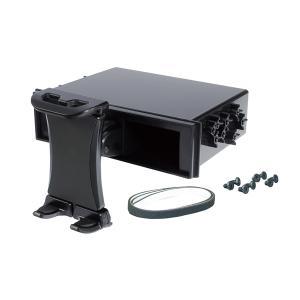 DIN BOX タブレットホルダー 1DIN BOX取り付け 上下方向3段階角度調節可能 10インチクラス 耐荷重500g以下 ブラック ヤック VP-D13 hotroadparts
