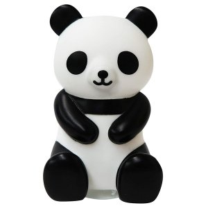 パンダの歯ブラシスタンド 歯ブラシ置き W52mm×D60mm×H90mm MEIHO ME301|hotroadparts