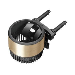 ドリンクホルダー スウィングスポット ゴールド 細缶・太缶・ペットボトルなど 直径72mmまで対応 エアコン吹出口取付 カーメイト DZ474 hotroadparts