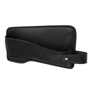 シートサイドポケット ヴェゼル専用 助手席側用 革シボ すき間からの小物落下防止に  ヤック SY-H14|hotroadparts