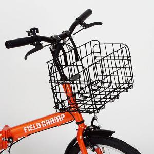 折畳みカゴ ハンドル取付 自転車用オプションパーツ ミムゴ MG-KG50|hotroadparts