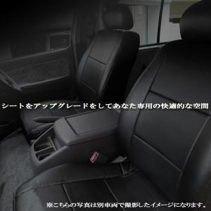 フロント シートカバー 運転席 助手席 ミニキャブバン DS64V (全年式) ヘッドレスト分割型  巧工房 BAZ07R06-004|hotroadparts
