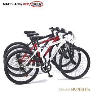 マウンテンバイク26インチ 6段変速自転車 Fサス MTB ハードテイル 街乗り レジャーホワイト MYPALLAS/マイパラス 池商 M-620N hotroadparts