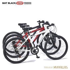 マウンテンバイク26インチ 6段変速自転車 Fサス MTB ハードテイル 街乗り レジャー レッド MYPALLAS/マイパラス 池商 M-620N hotroadparts