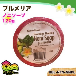バブルシャックハワイ ノニソープ 120g プルメリア オーガニック 石鹸 ポリフェノール ミント/BBL-NTS-NNPL|hotroadtirechains