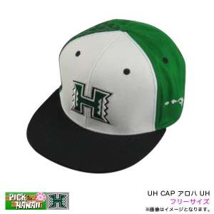 ハワイ大学 アロハUHキャップ帽  大学シリーズ人気です!  アジャスター付きでフリーサイズなのであ...
