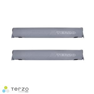 ●Terzoのサーフボードキャリア用オプション ボードクッション EM46SL ●カラー:シルバー ...
