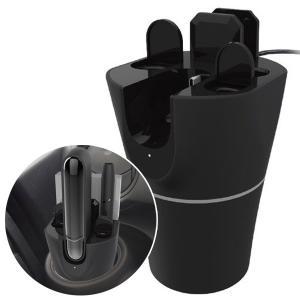 IQOS3専用充電スタンド 充電 吸殻入れ 収納 USB電源 車載 アイコス3ポケットチャージャー ...