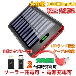 モバイルバッテリー Qi ワイヤレス充電 24000mAh ...