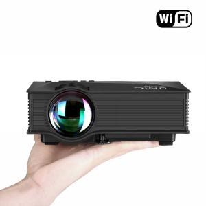 家庭用 ホームシアター UC46 LEDプロジェクター 1080P HD WIFI 1200ルーメン 【アウトレット】|hotstyle