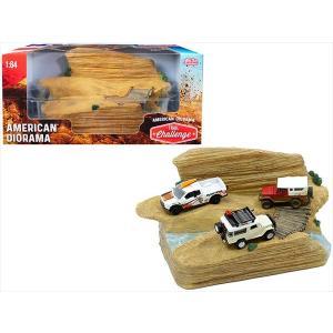 ミニカー 1/64用 American Diorama オフロード ジオラマセット  アメリカン ...