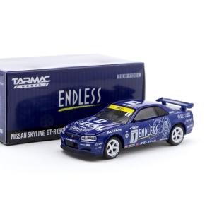 ミニカー 1/64 Tarmac Works GREENLIGHT スカイラインGTR GT-R R...