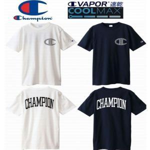 ■champion チャンピオン 新作 メンズ Tシャツ キャンパス ■速乾 クールマックス COO...