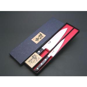 銀香セット 文化包丁ペティナイフ|houcho