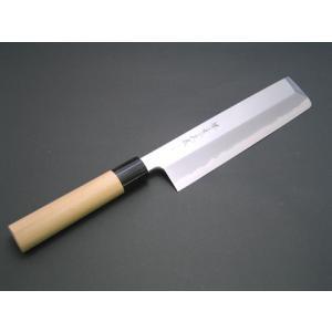 堺味正作本霞白鋼東型薄刃包丁210mm|houcho