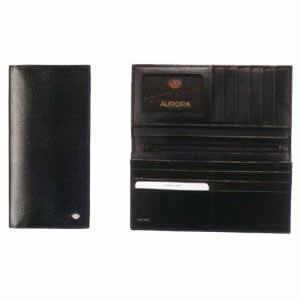 AURORA(アウロラ) メンズウォレット ブラック トリノ015|hougado