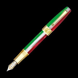 MONTEGRAPPA(モンテグラッパ) 限定品 イタリア統一150周年 18Kソリッドゴールド 万年筆 IS150_GT|hougado