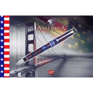 AURORA(アウロラ) 限定品 大陸シリーズ America(アメリカ) ボールペン No.506|hougado|02