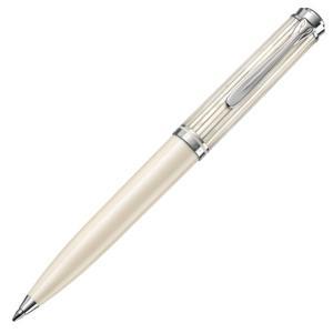 ペリカン PELIKAN スーベレーン K605 ボールペン ホワイトストライプ|hougado