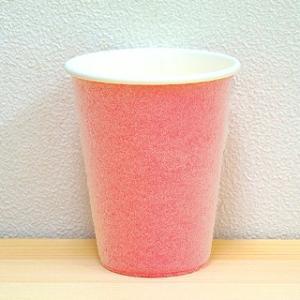 耐熱紙コップ(8オンス)100個入 ピンク|hougyokuen