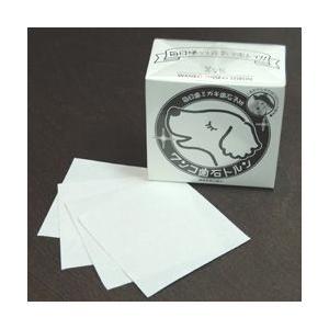愛犬愛猫用歯磨きシート! ゼオライトを練り込んだ和紙でデンタルケア  ■寸法:たて80mm×よこ85...