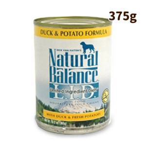 ドッグフード ナチュラルバランス ダック&ポテト 缶375g 犬のエサ