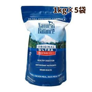 ドッグフード プレミアムフード ナチュラルバランスウルトラプレミアム 1kg×5袋 犬のエサ