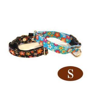 犬の首輪 ASHU お花のカラーSサイズ 小型犬 犬の首輪