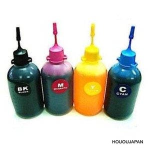 Brotherブラザー用詰め替えインク100ml 4色セット|hououjapan2007