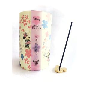 ディズニー disney ミニーマウス ルームインセンス お部屋 お香 すみれの香り お家時間 プレゼント ご褒美 可愛い リラックス 煙少ない|hourin-shop