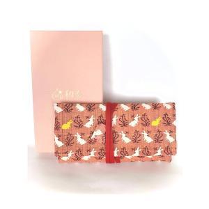 かわいいおしゃれ数珠袋数珠入れ念珠袋念珠入れふくさ和奏ピンク色 hourin-shop