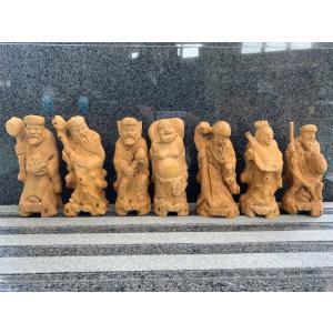 七福神 木彫り 置物 開運 hourin-shop
