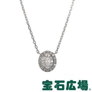 宝石広場オリジナル オーバルダイヤ・ダイヤ ネックレス 新品 ジュエリー houseki-h
